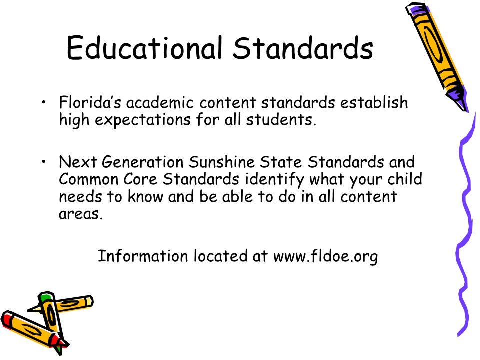 Educational Standards