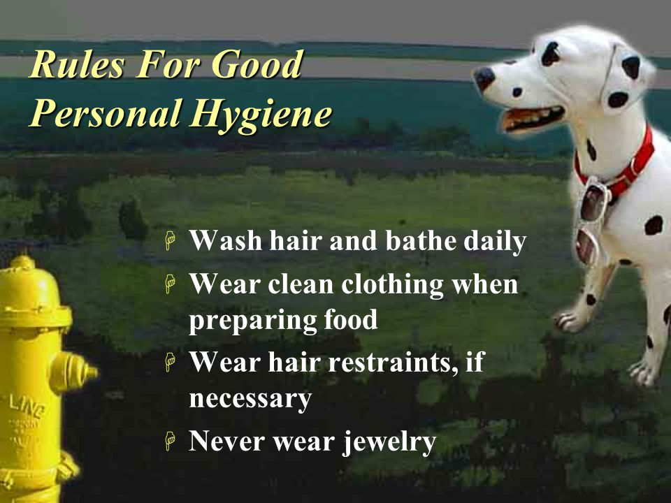 Rules For Good Personal Hygiene