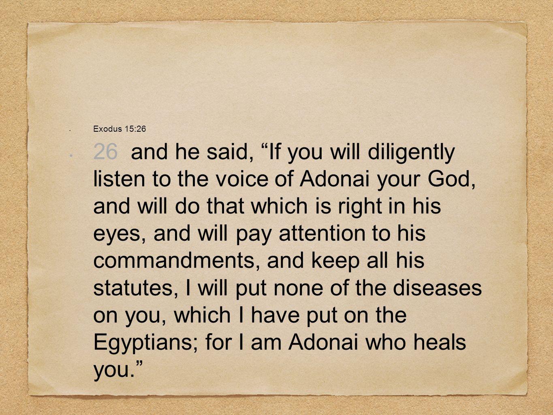 Exodus 15:26