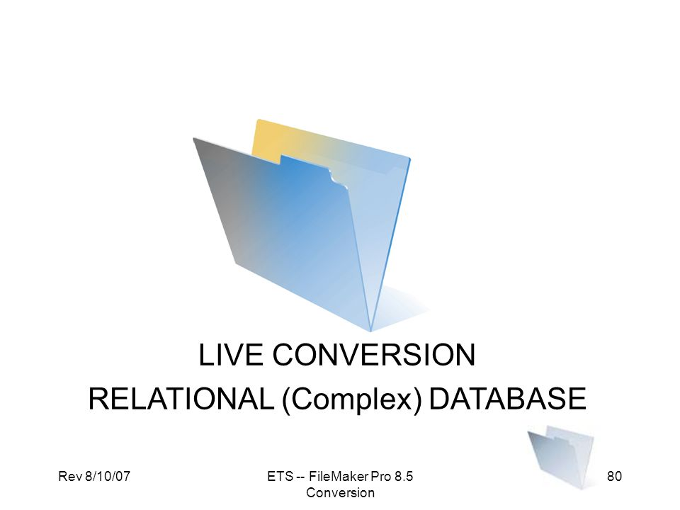 RELATIONAL (Complex) DATABASE