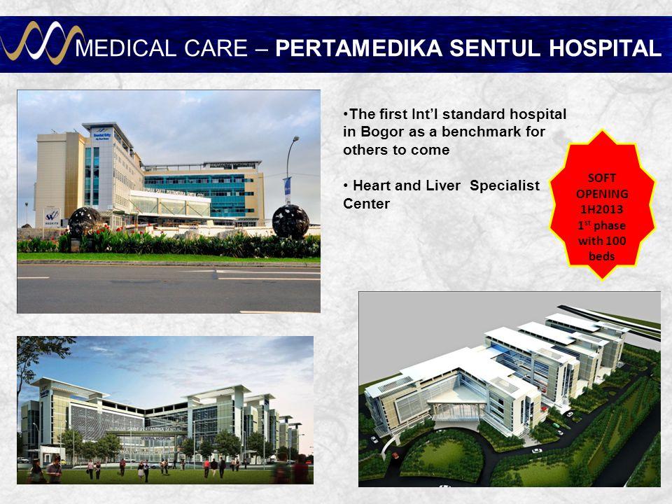 MEDICAL CARE – PERTAMEDIKA SENTUL HOSPITAL
