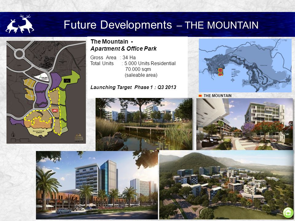 Future Developments – THE MOUNTAIN