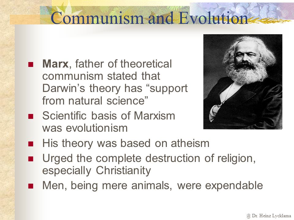 Communism and Evolution