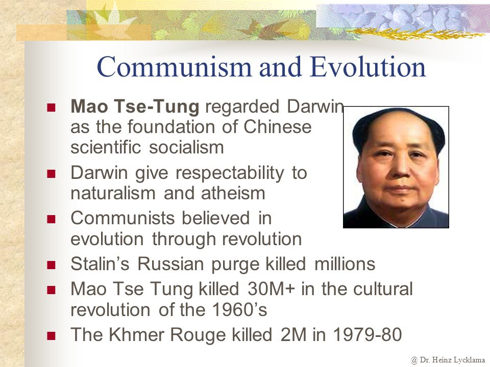 Communism and Evolution