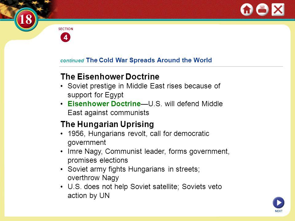 The Eisenhower Doctrine