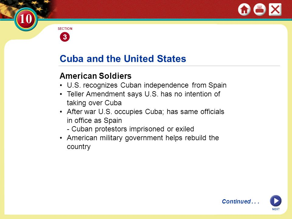 Cuba and the United States