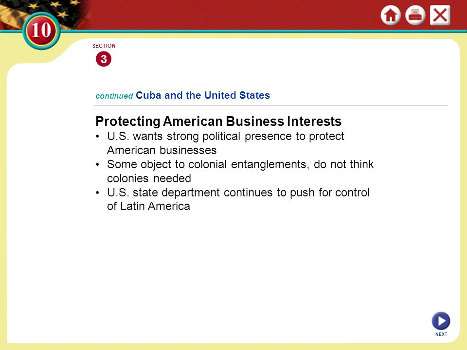 Protecting American Business Interests
