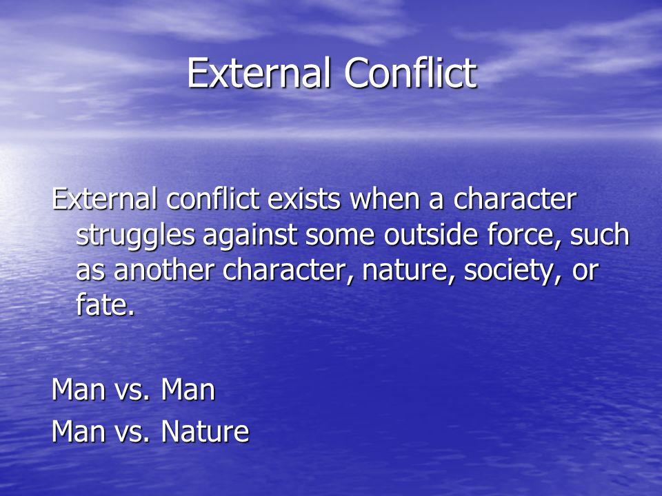 External Conflict