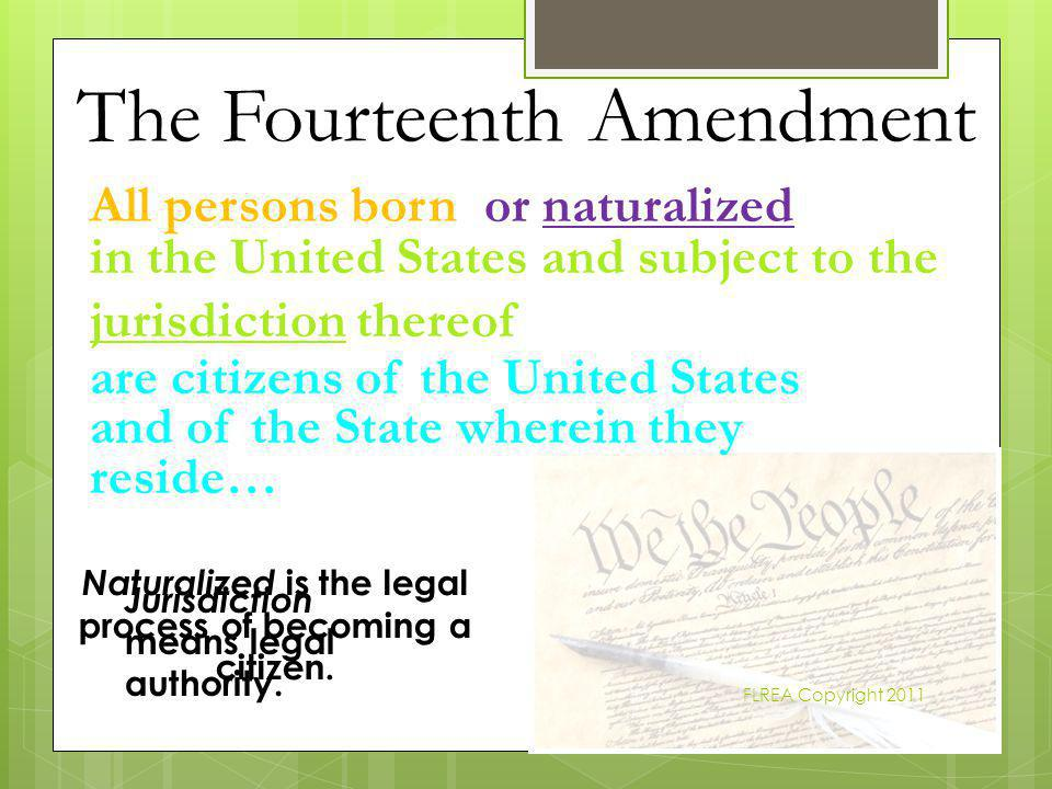 Naturalized is the legal process of becoming a citizen.