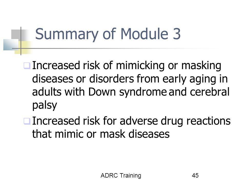Summary of Module 3
