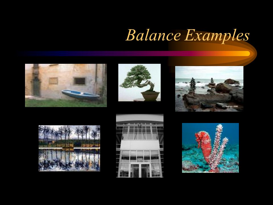 Balance Examples