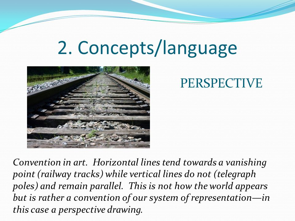 2. Concepts/language PERSPECTIVE