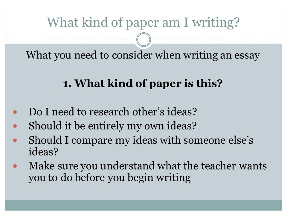 types of essay development ppt video online  what kind of paper am i writing