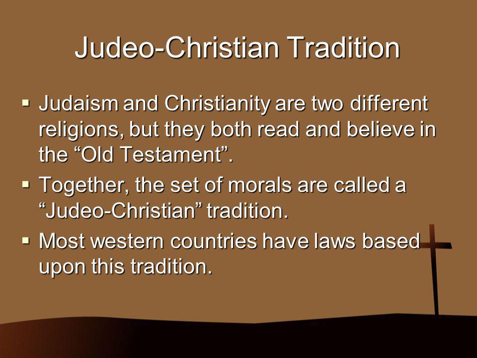 Judeo-Christian Tradition