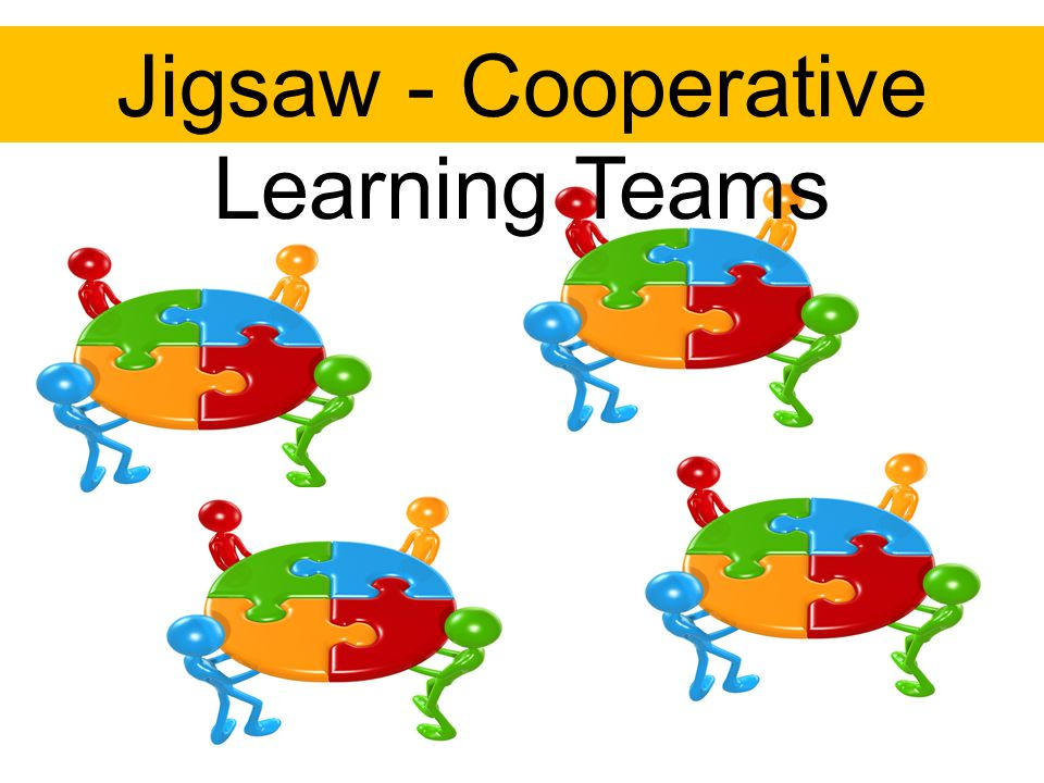Jigsaw - Cooperative Learning Teams