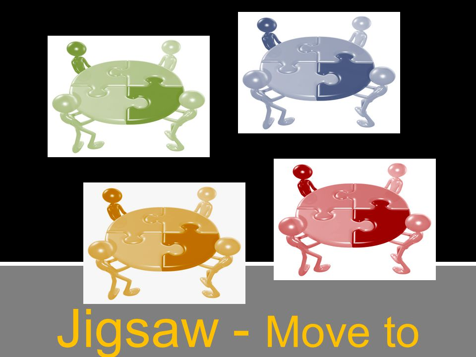 Jigsaw - Move to Expert Groups