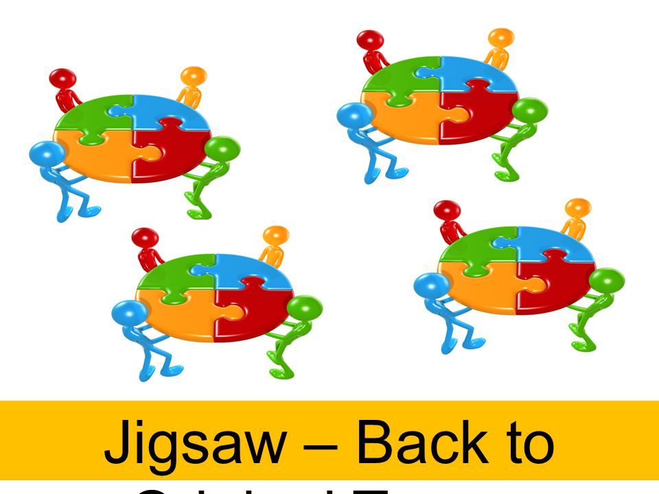 Jigsaw – Back to Original Teams
