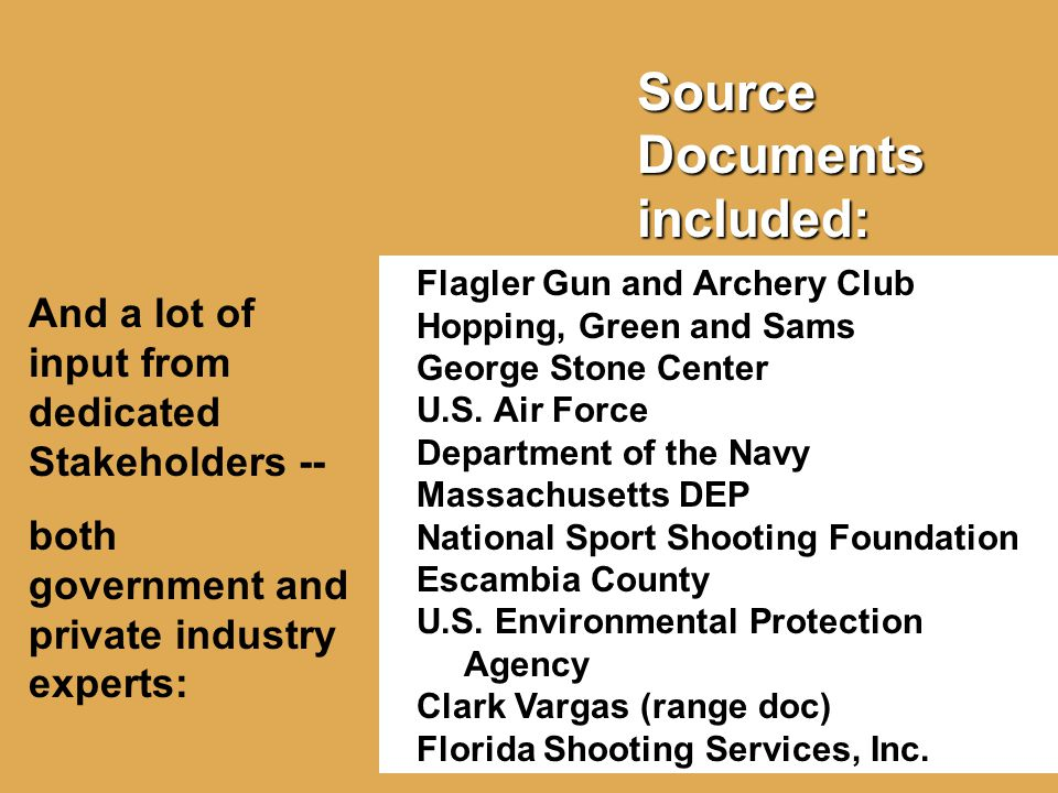Source Documents included: