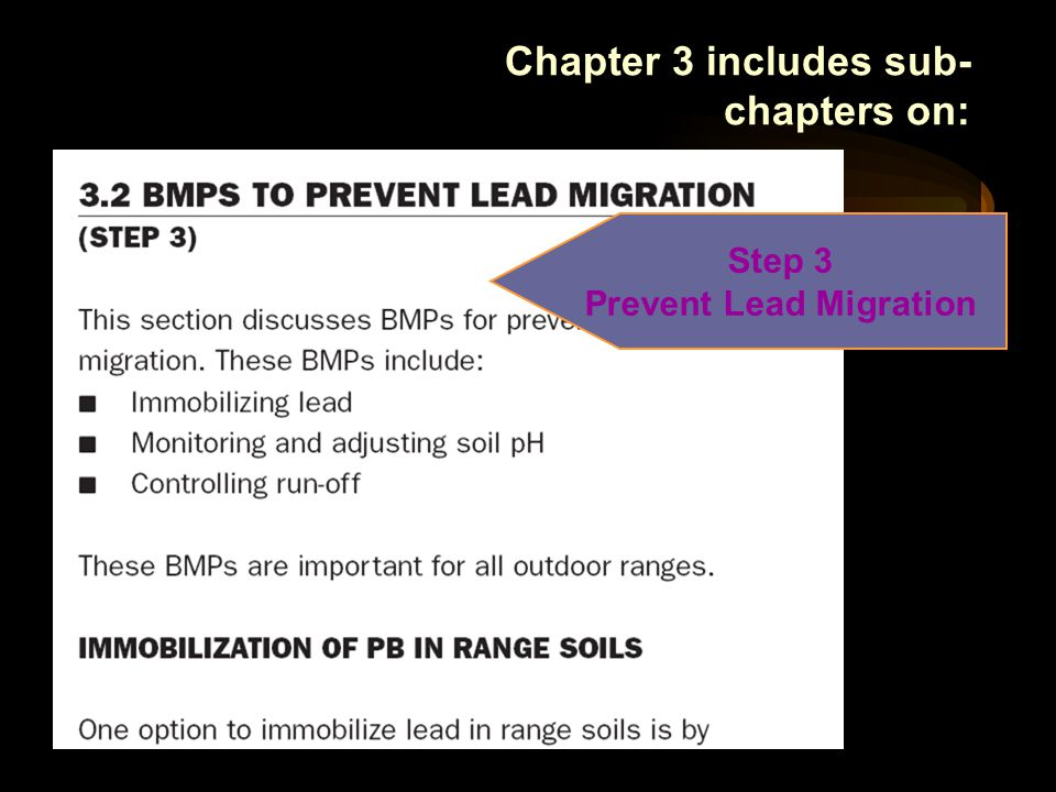 Step 3 Prevent Lead Migration