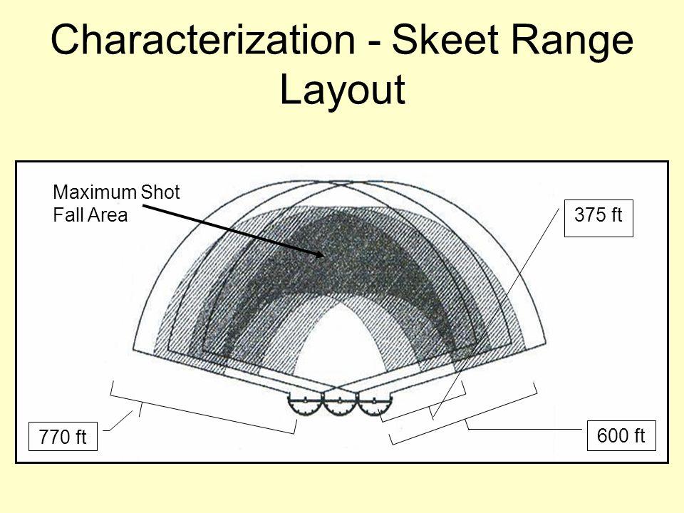 Characterization - Skeet Range Layout