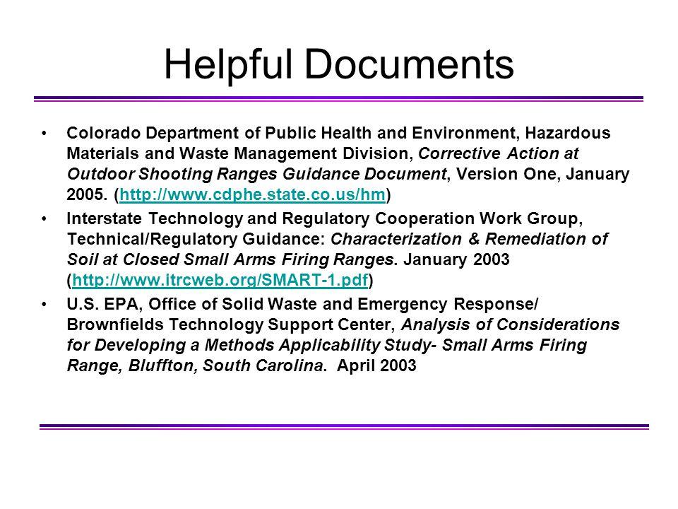 Helpful Documents