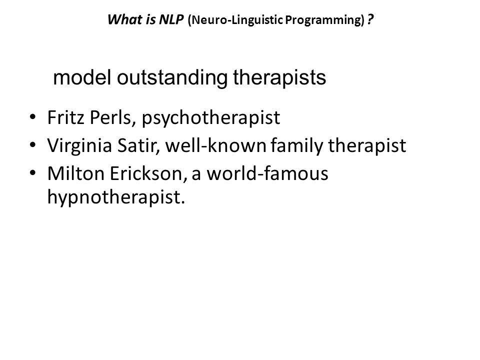 What is NLP (Neuro-Linguistic Programming)