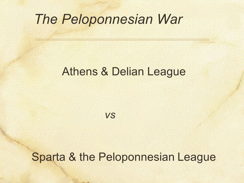 Sparta & the Peloponnesian League