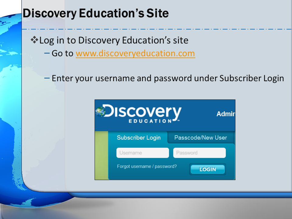 Discovery Education's Site