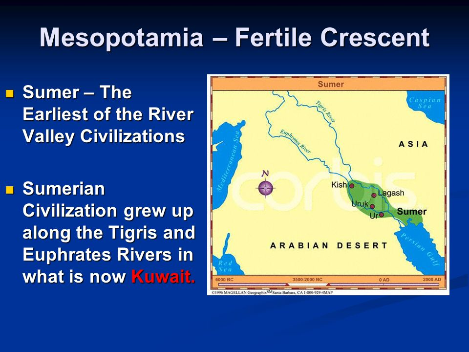 Mesopotamia – Fertile Crescent