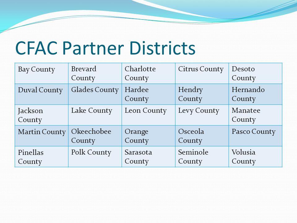 CFAC Partner Districts