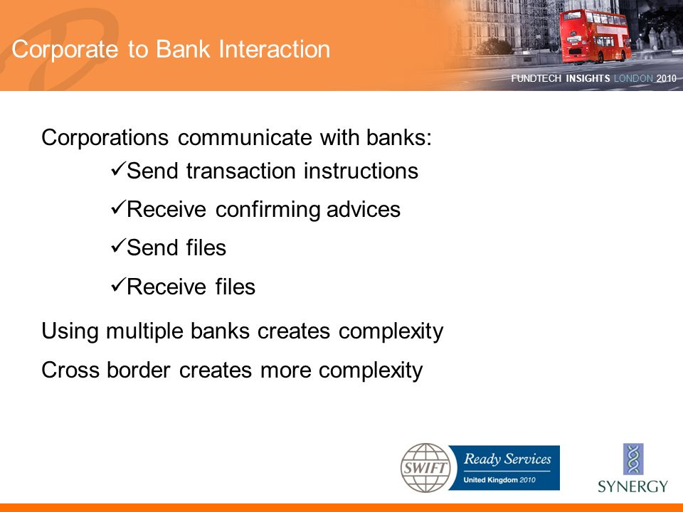 Corporate to Bank Interaction