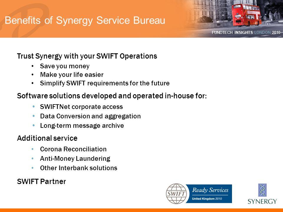Benefits of Synergy Service Bureau
