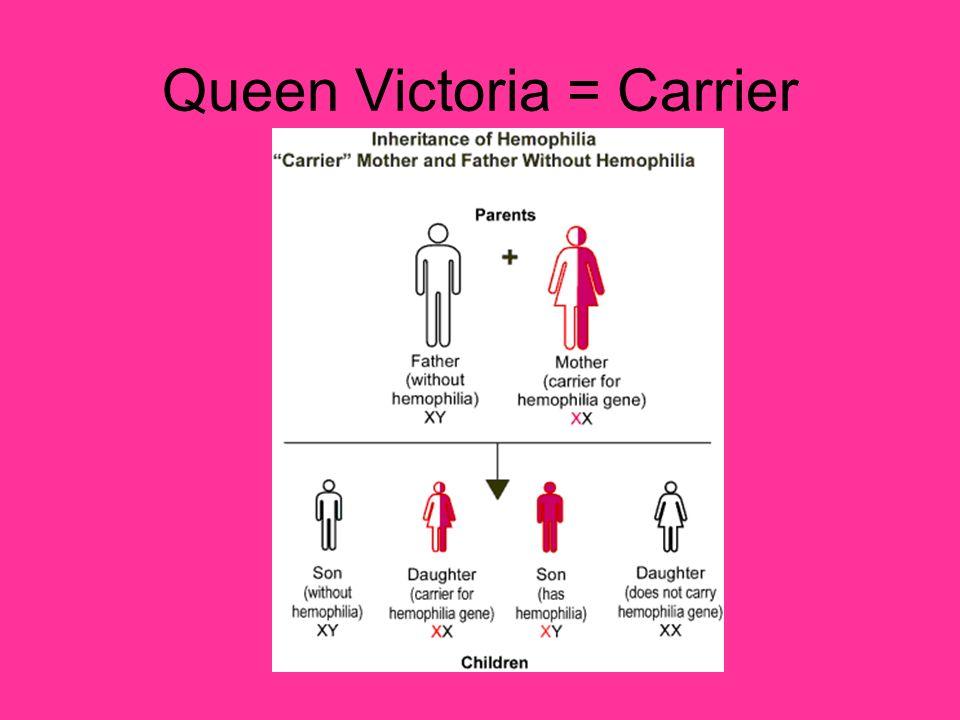 Queen Victoria = Carrier