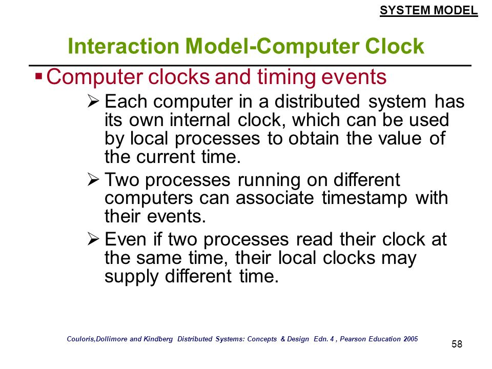 Interaction Model-Computer Clock