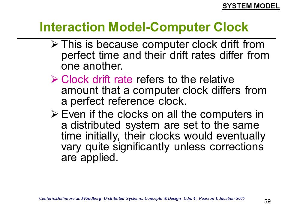 Interaction Model-Computer Clock