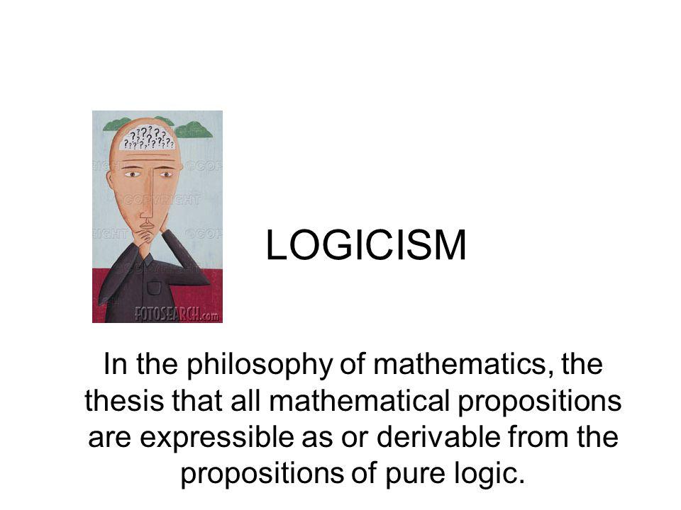 LOGICISM