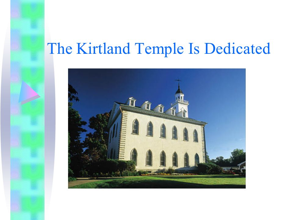 The Kirtland Temple Is Dedicated