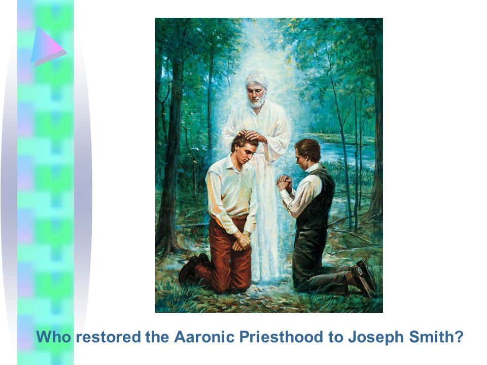 Who restored the Aaronic Priesthood to Joseph Smith