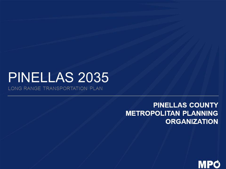 PINELLAS 2035 LONG RANGE TRANSPORTATION PLAN