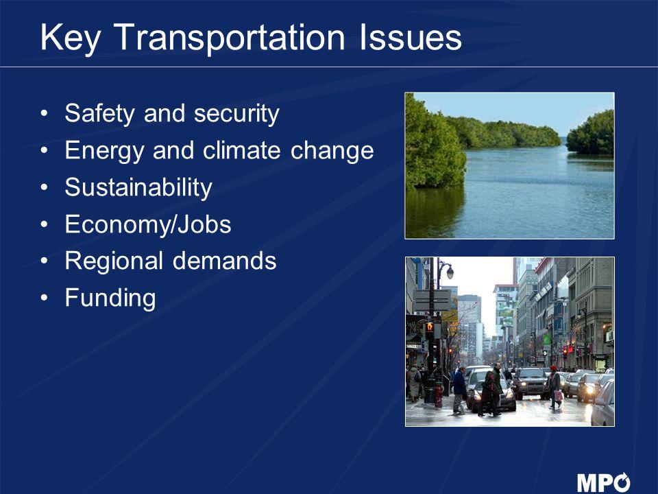 Key Transportation Issues