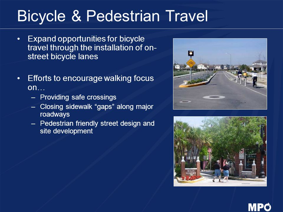 Bicycle & Pedestrian Travel