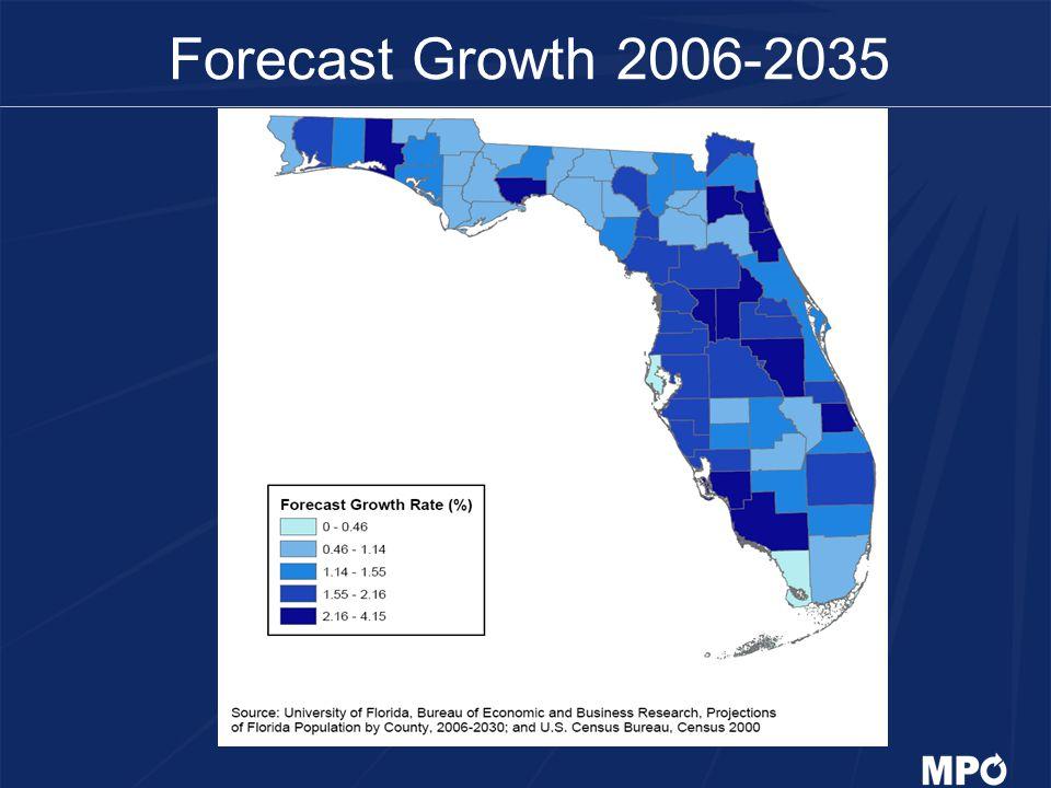 Forecast Growth 2006-2035