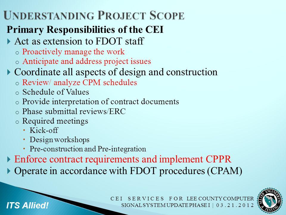 Understanding Project Scope