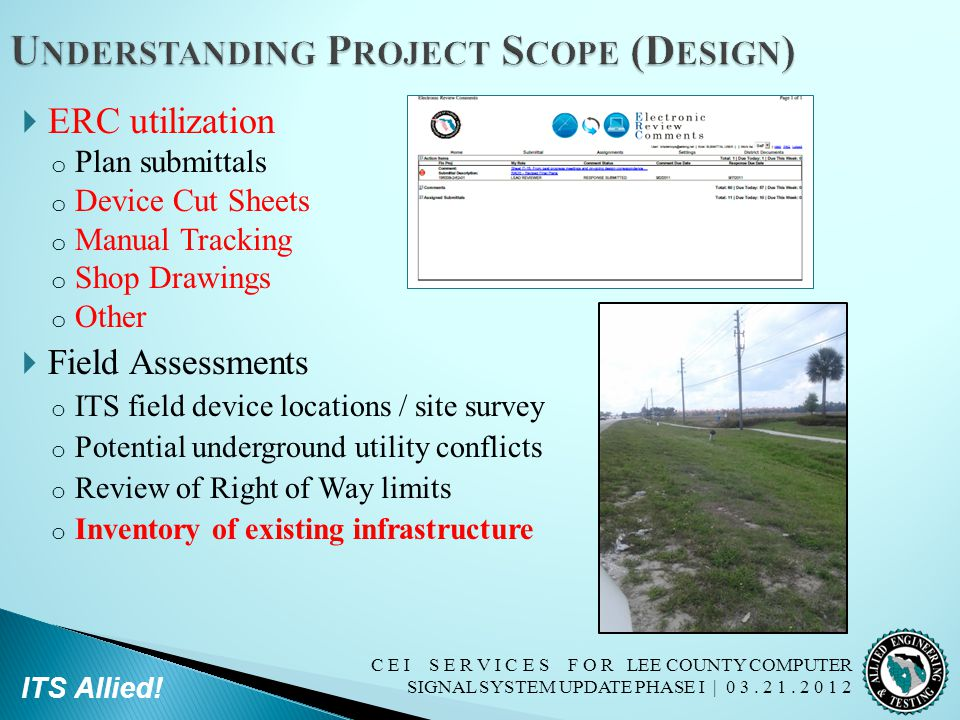 Understanding Project Scope (Design)