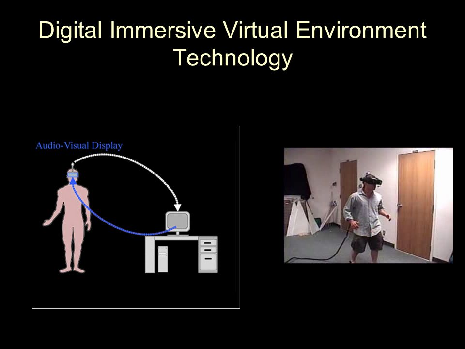 Digital Immersive Virtual Environment Technology