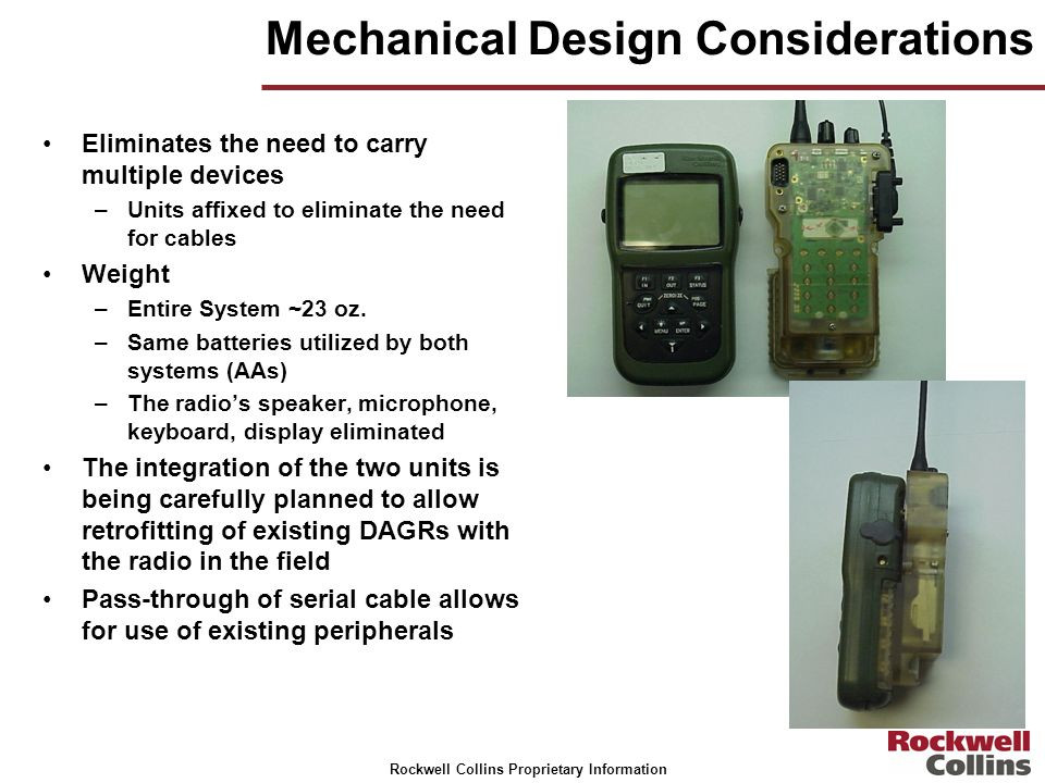 Mechanical Design Considerations
