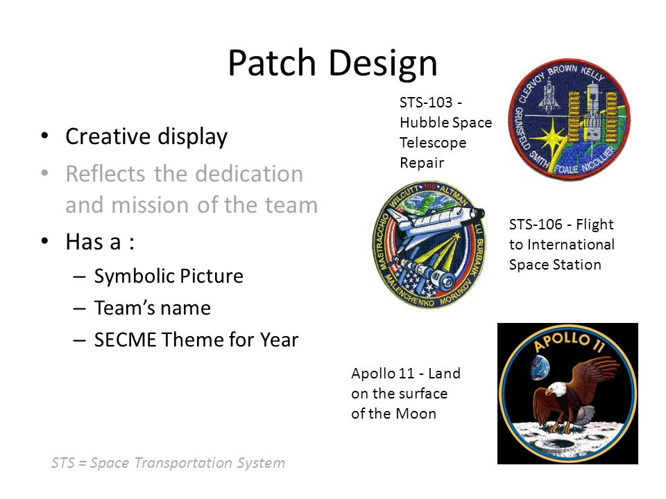 Patch Design Creative display