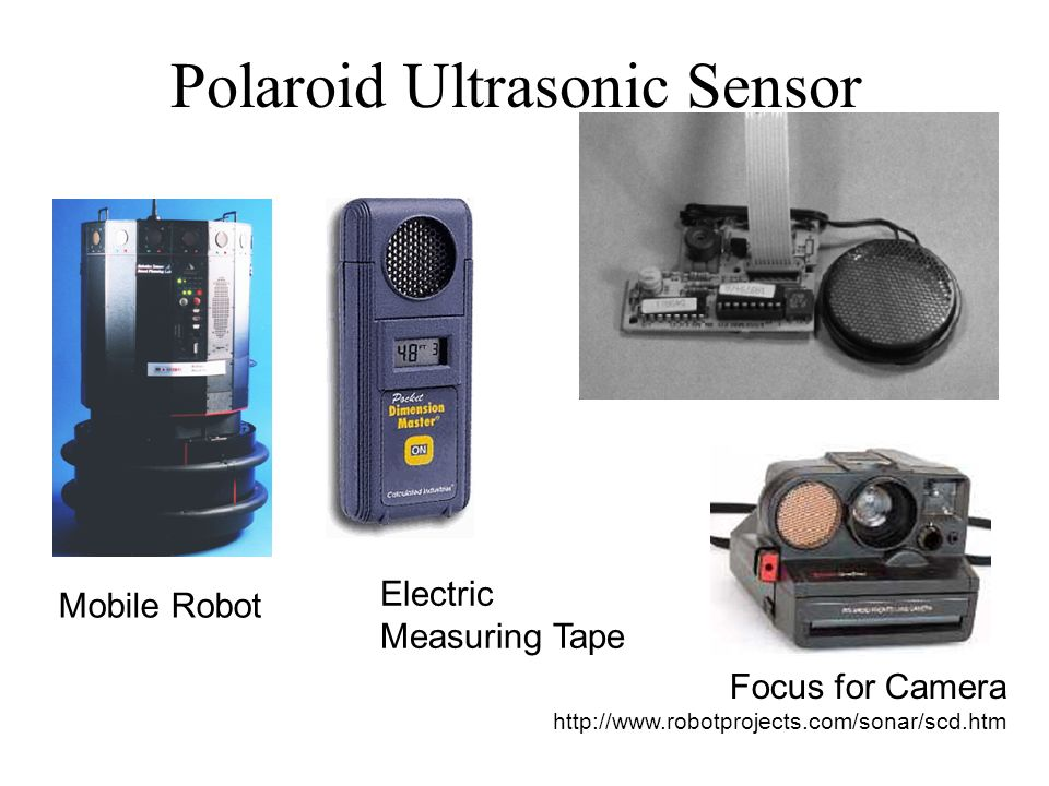 Polaroid Ultrasonic Sensor