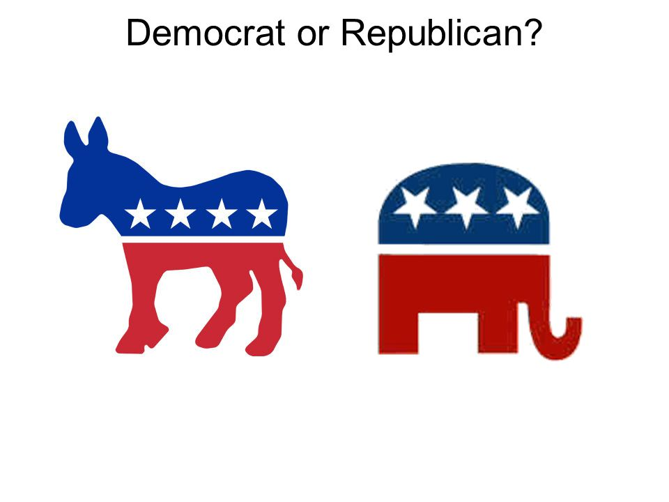 Democrat or Republican