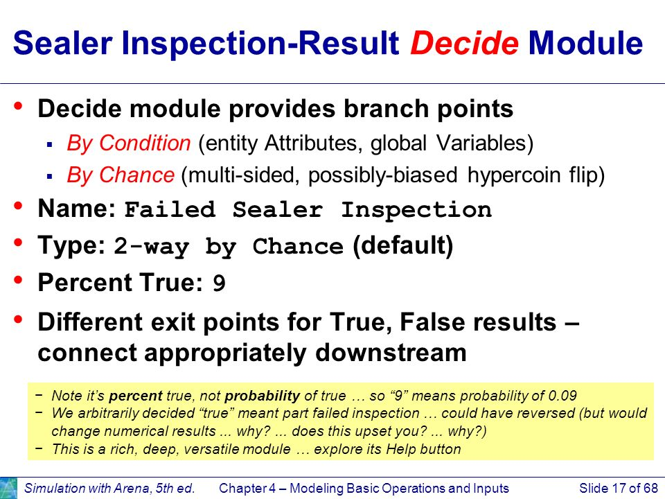 Sealer Inspection-Result Decide Module